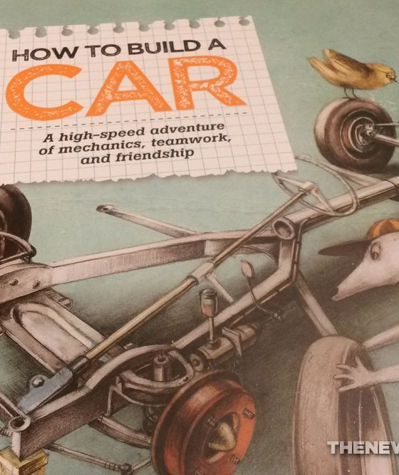 Book Review: Stunningly Illustrated 'How To Build A Car