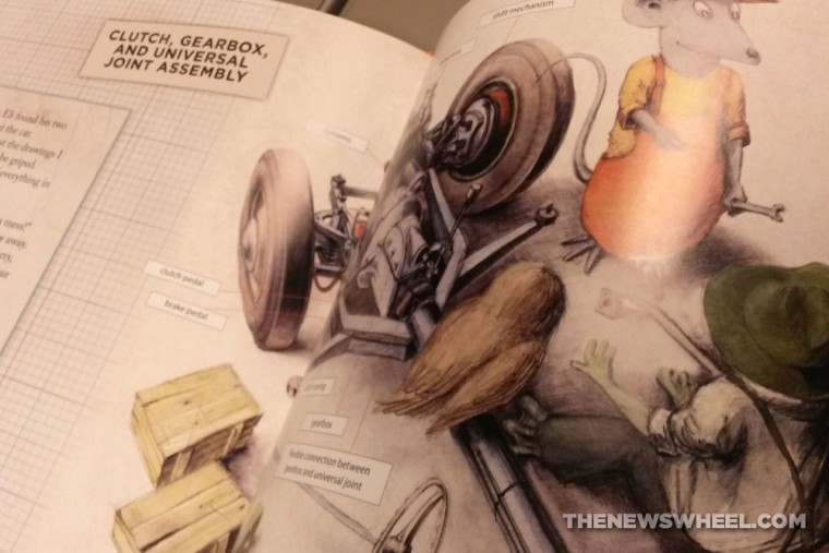 How to Build a Car Children's Book by Martin Sodomka pages