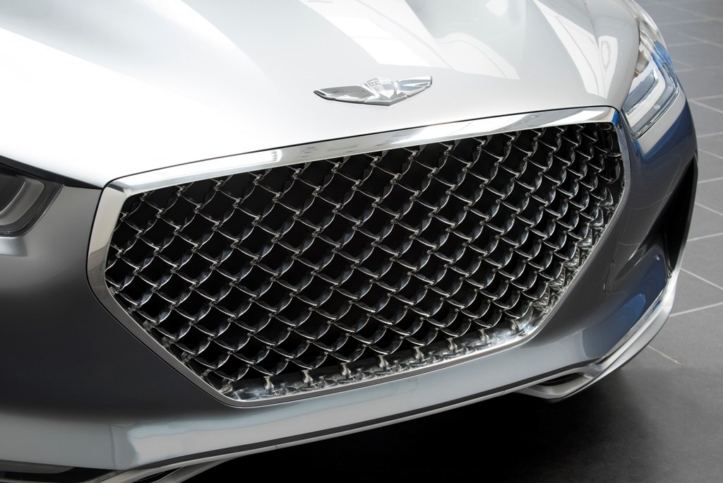 Hyundai Vision G Coupe Concept Grill The News Wheel