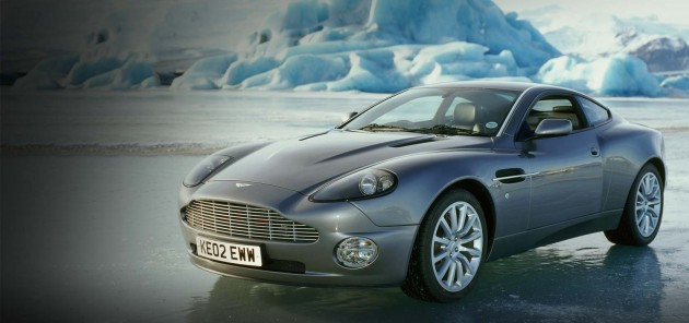 James Bond's Aston Martin V8 Vanquish