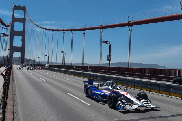 Justin Wilson Memorial Golden Gate Bridge