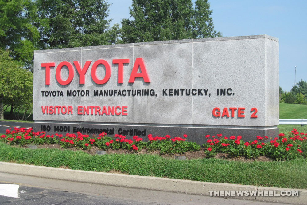 Toyota Plant Kentucky By Tour Gate Georgetown The News Wheel