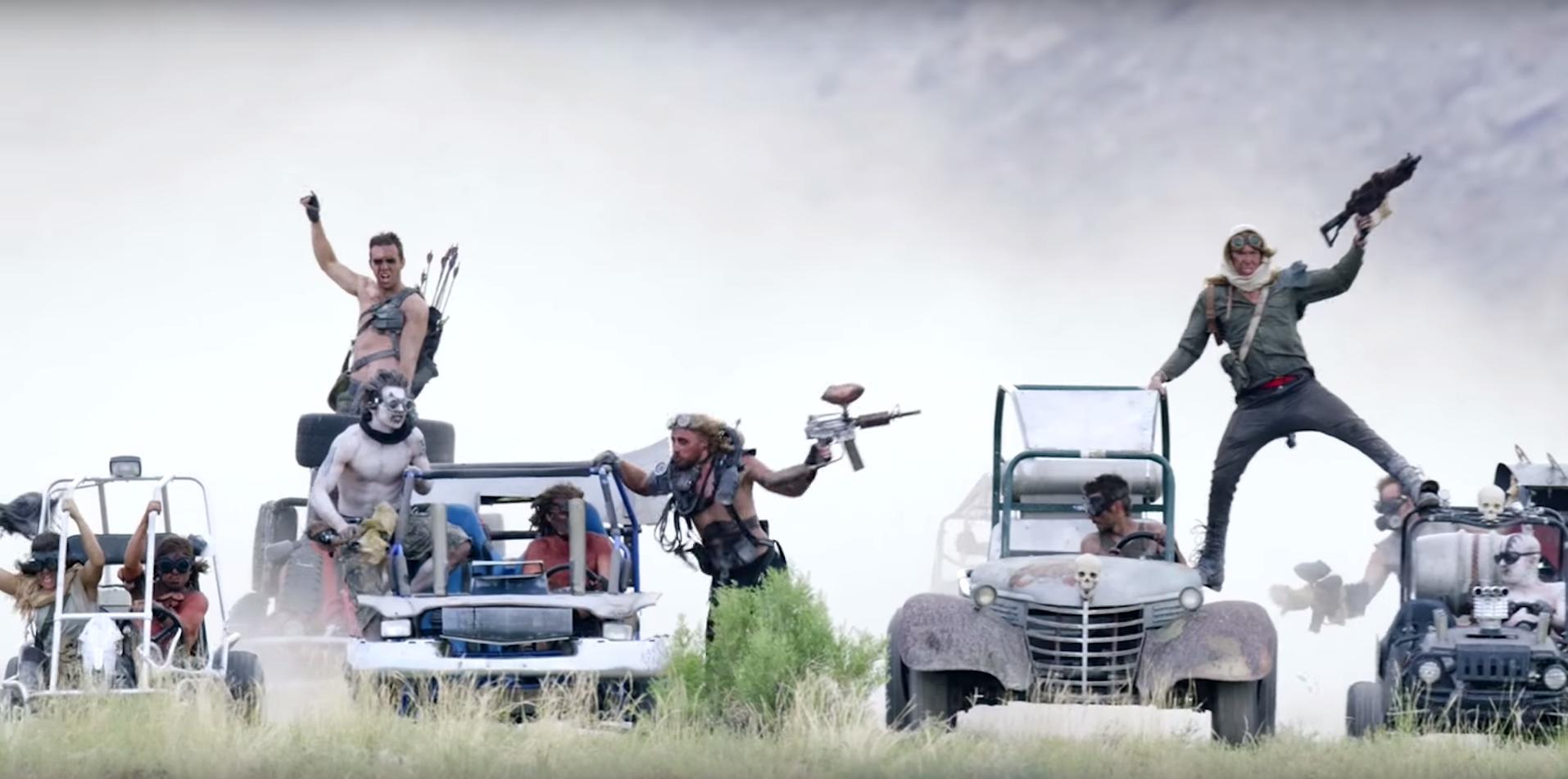 Mad Max go kart video