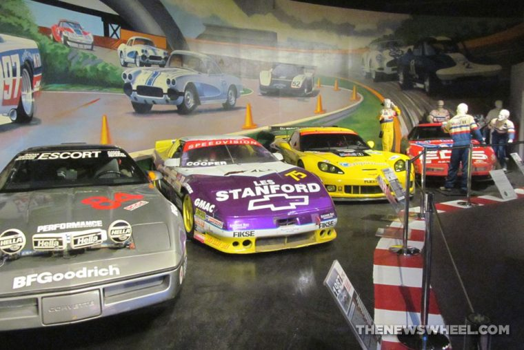 National-Corvette-Museum-Bowling-Green-NASCAR-display