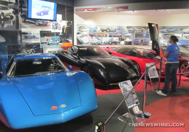 National-Corvette-Museum-Bowling-Green-concept-cars-display