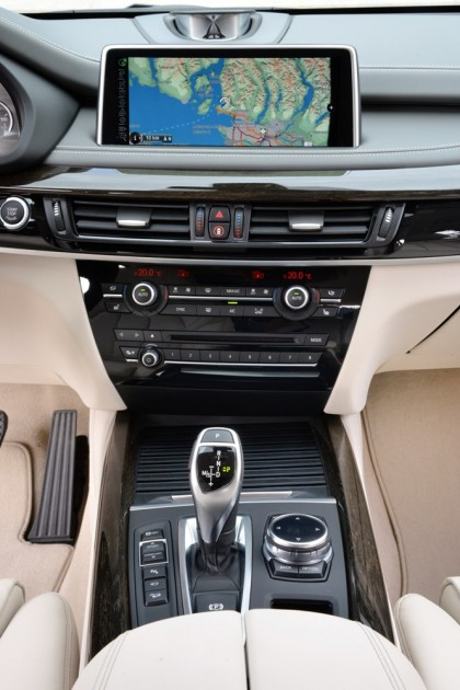 BMW X5 xDrive50i Interior