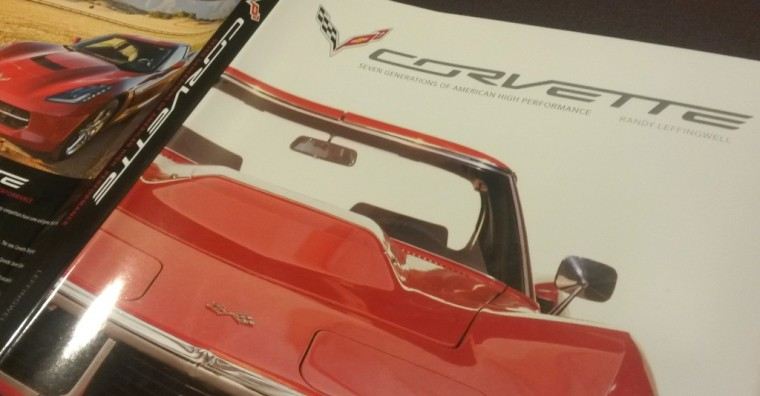 Randy Leffingwell Corvette Seven Generations Book Review cover dust jacket