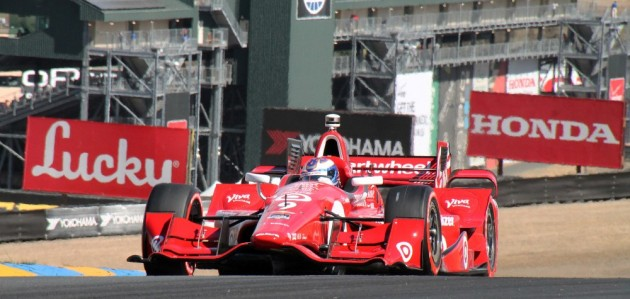 Scott Dixon narrowly wins his fourth IndyCar championship.