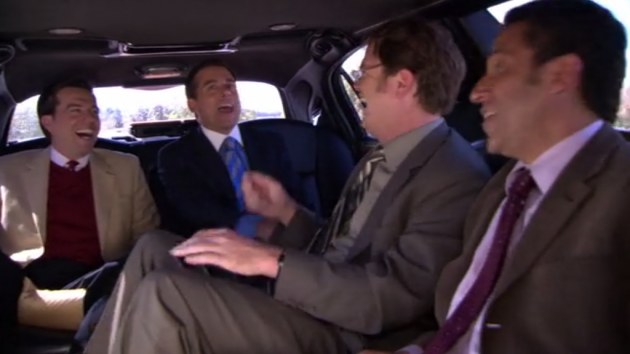 The Office - Shareholder Meeting - Limo