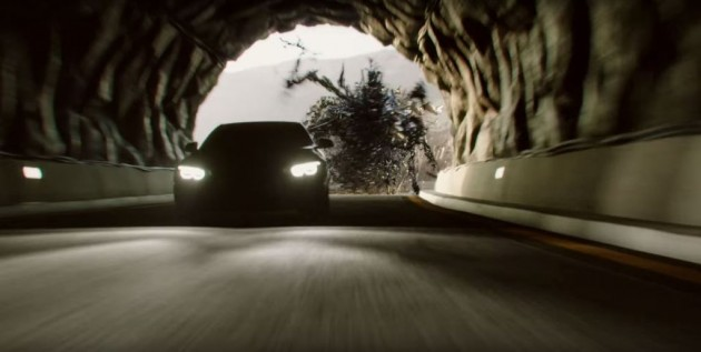 Shell V-Power Nitro+ BMW monster tunnel
