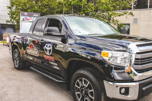 Tailgating Toyota Tundra