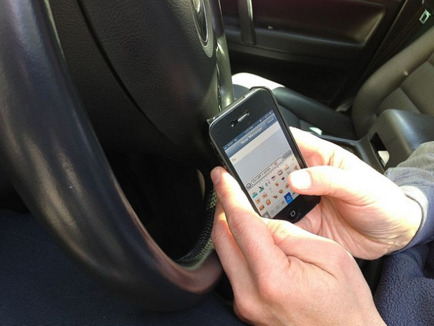 texting while driving distracted driving