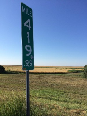"To combat ""420"" mile markers being stolen, states have resorted to replacing them with signs reading 419.9"