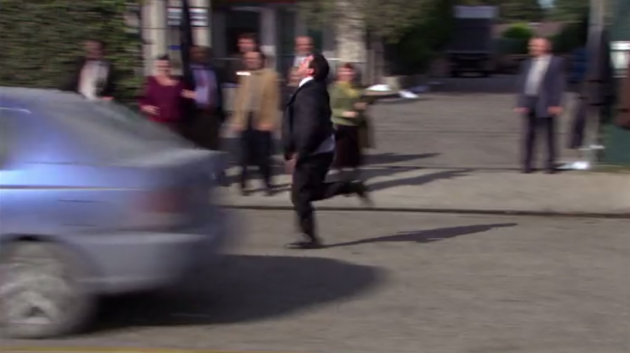 The Office - The Duel - Speed Radar