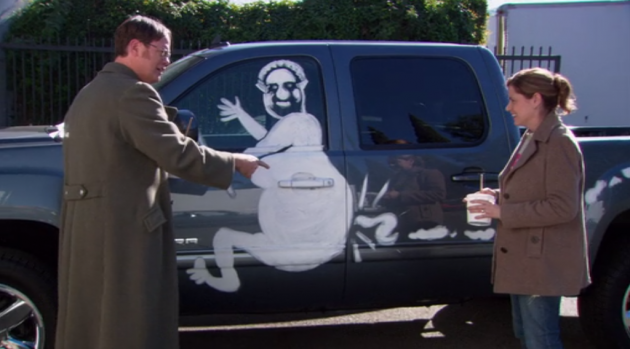 The Office - Vandalism - Truck