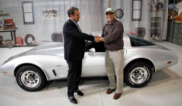 George Talley reunited with stolen 1979 C3 Corvette