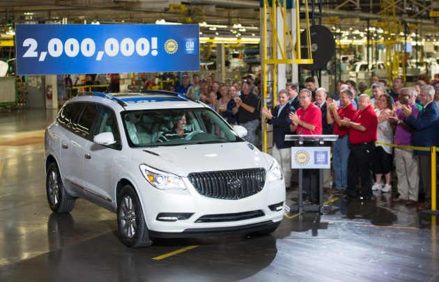 GM Lansing Delta Township Plant Produces 2 Millionth Vehicle