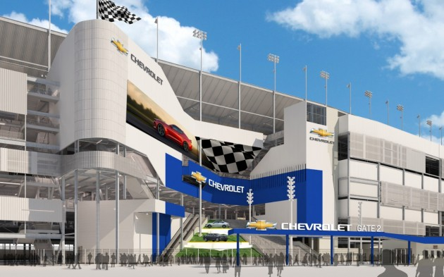 The new massive, Chevy-branded entry coming to Daytona in 2016