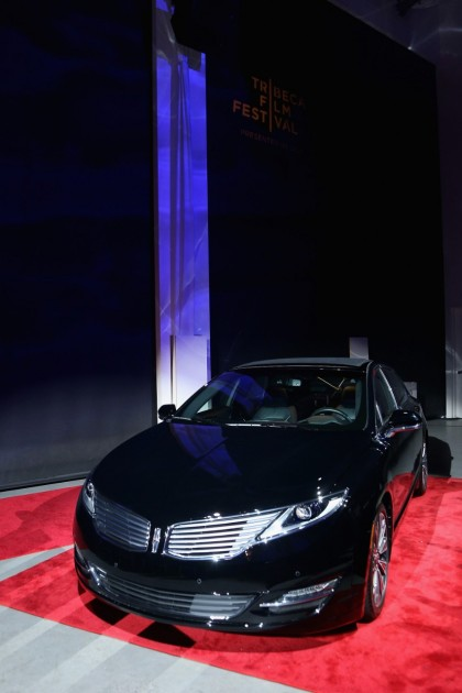 A Lincoln MKZ on display at the TFF: Sinatra at 100 concert
