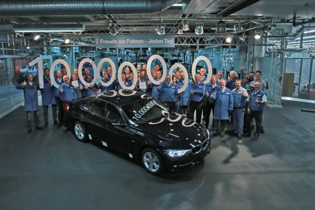 10 millionth BMW 3 Series