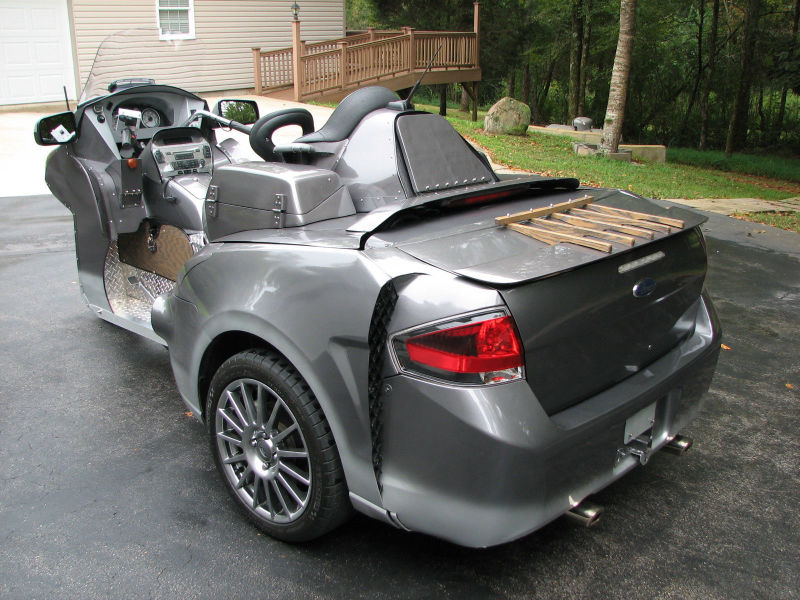 Bizarre Ford Focus-Honda Goldwing Trike Sells for $9,100 ...