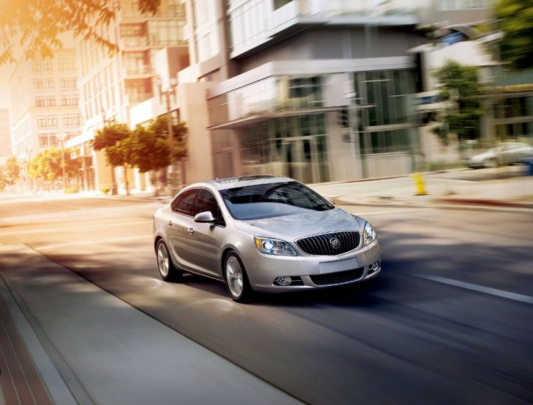 A six-speed automatic transmission comes standard on the 2016 Buick Verano
