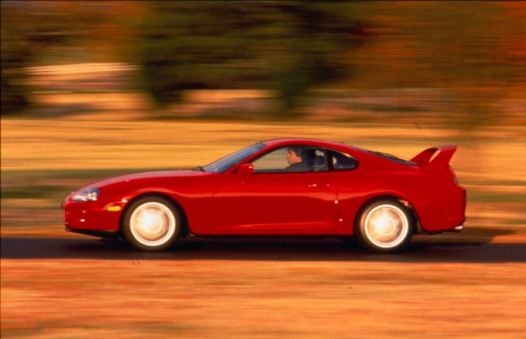1995 Toyota Supra SE toyota performanec division gazoo racing