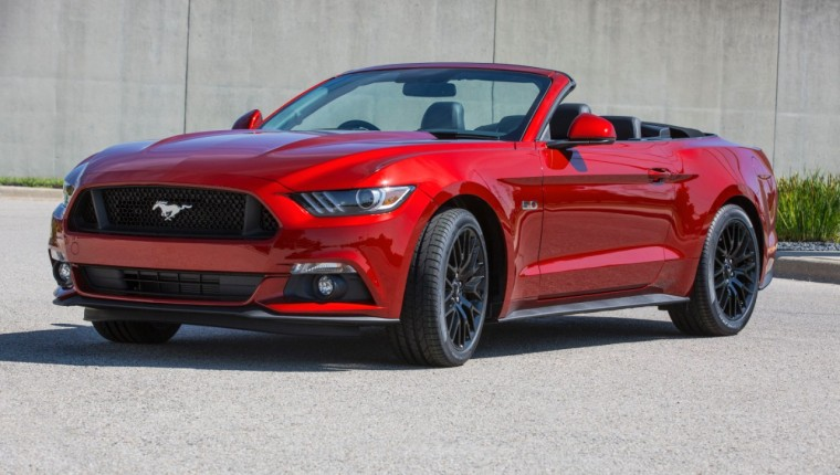 2015 Ford Mustang Right-Hand-Drive