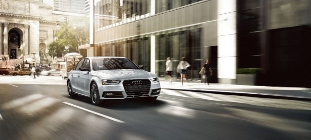 The 2016 Audi A4 is a sleek luxury car