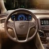 The 2016 Buick LaCrosse features a Leather-wrapped steering wheel and shift knob