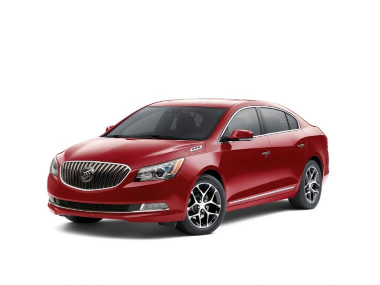 The 2016 Buick LaCrosse comes standard with 17-inch machine-faced Silver painted wheels