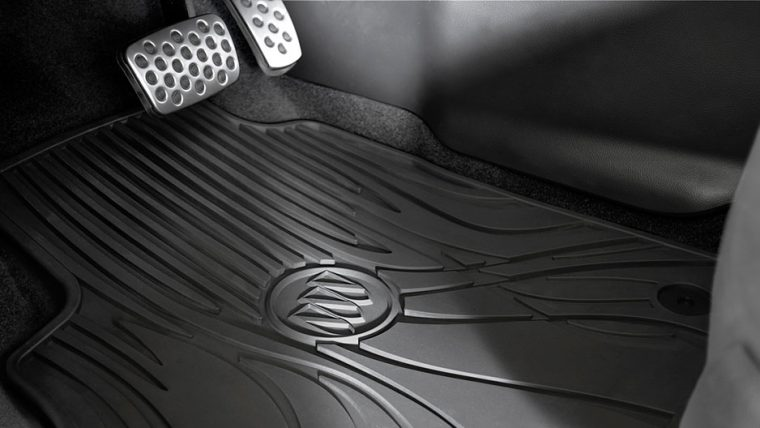 The 2016 Buick Verano features color-keyed carpet and mats.