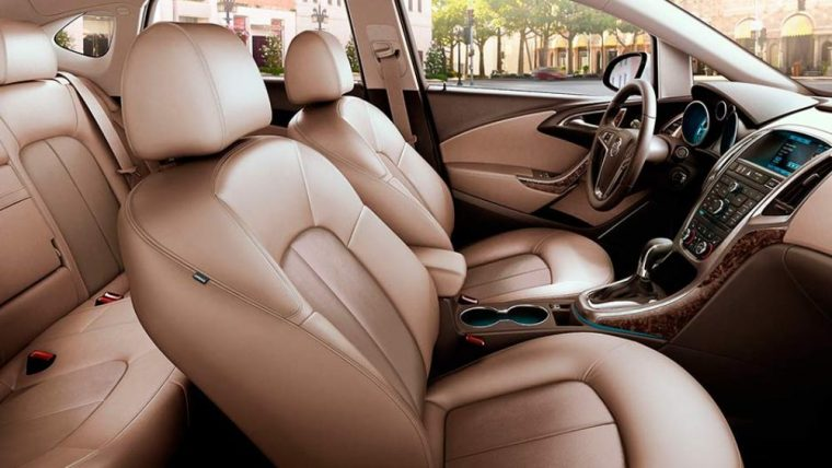 The interior of the 2016 Buick Verano features heated front seats