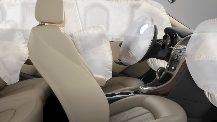 The 2016 Buick Verano comes equipped with 10 standard airbags