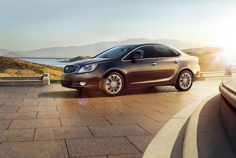 The 2016 Buick Verano comes equipped with a standard 2.4-liter DOHC four-cylinder engine