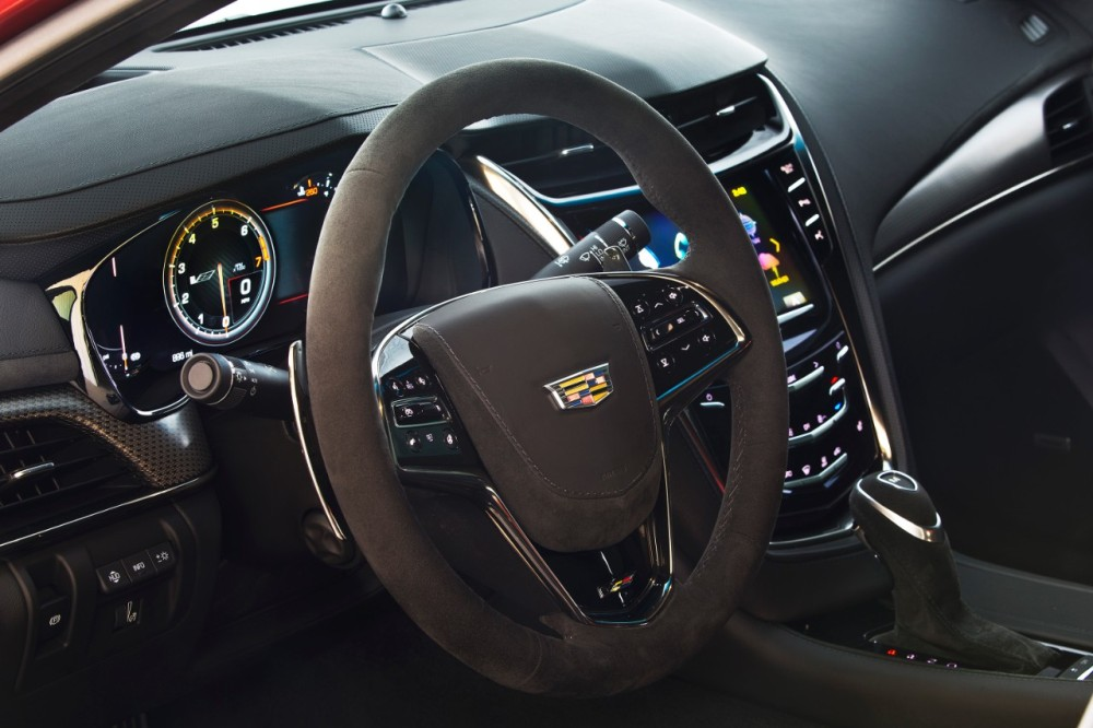 2016 cadillac cts v interior photo the news wheel. Black Bedroom Furniture Sets. Home Design Ideas