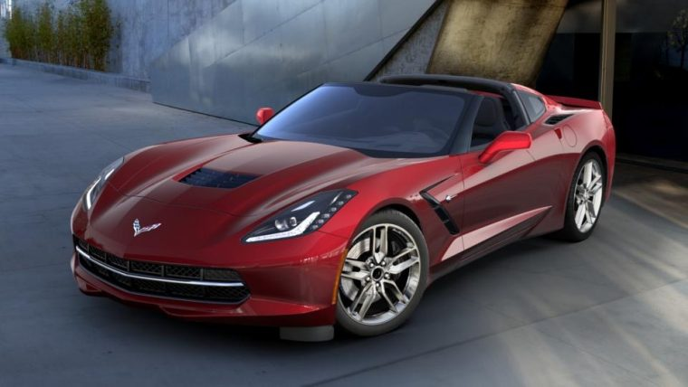 2016 Chevrolet Corvette Stingray in Long Beach Red Metallic Tintcoat