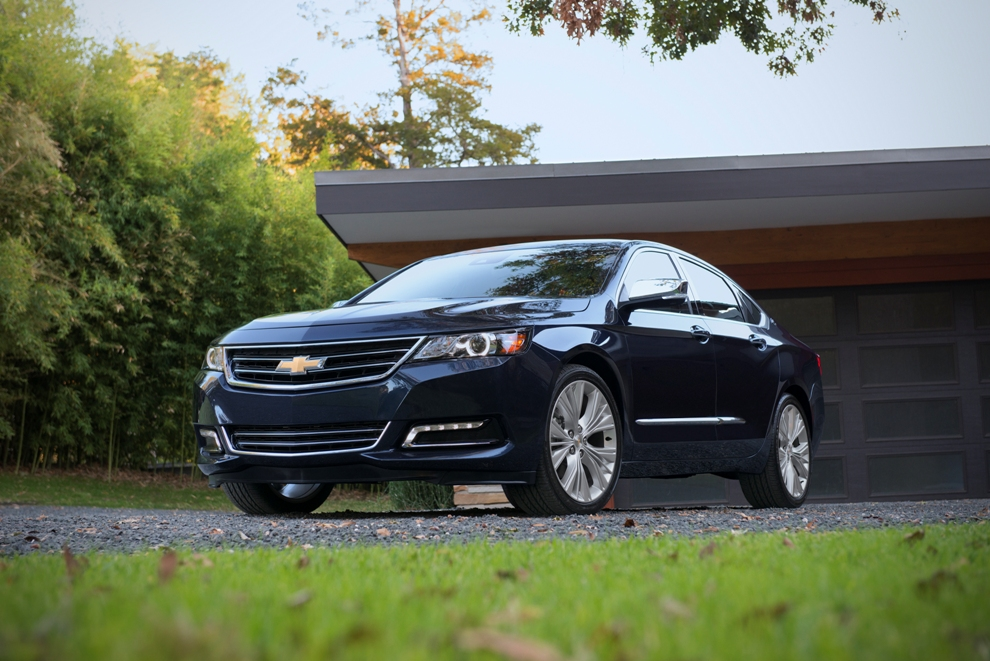 2016 chevrolet impala overview the news wheel. Black Bedroom Furniture Sets. Home Design Ideas