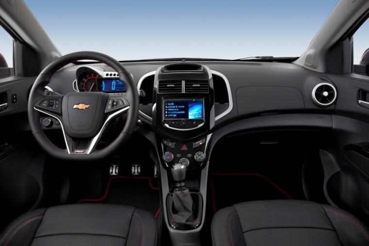 2016 Chevrolet Sonic Interior