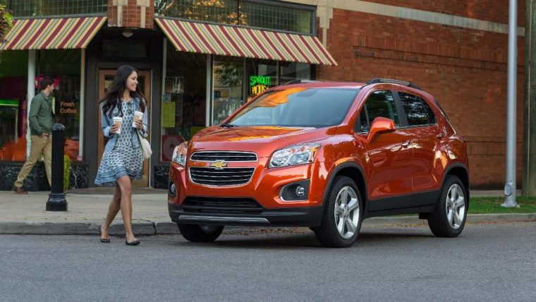 The 2016 Chevrolet Trax is a small SUV equipped with a 1.4-liter ECOTEC® Turbo engine good for 138 horsepower and 148 lb–ft of torque.