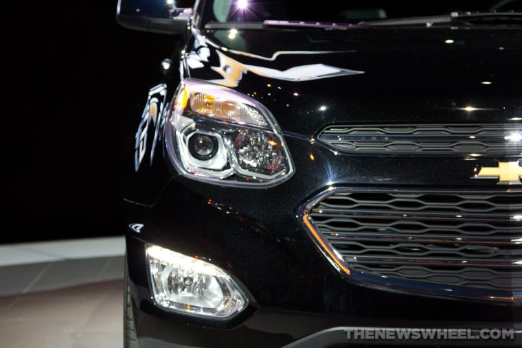 2016 Chevy Equinox front