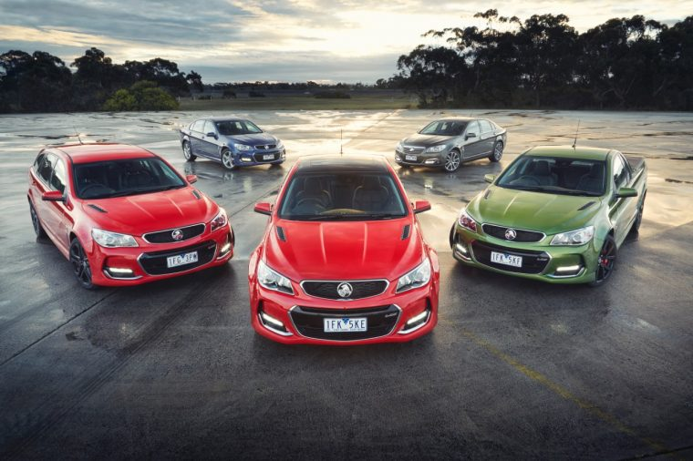 2016 Holden Commodore VFII