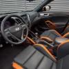 2016 Hyundai Veloster Turbo Orange dashboard