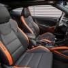 2016 Hyundai Veloster Turbo Orange interior