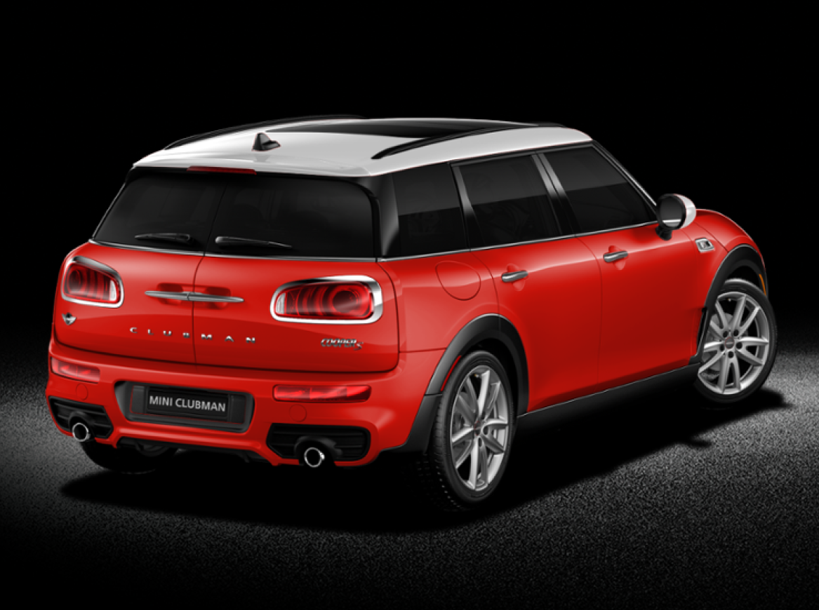 2016 mini clubman the news wheel. Black Bedroom Furniture Sets. Home Design Ideas