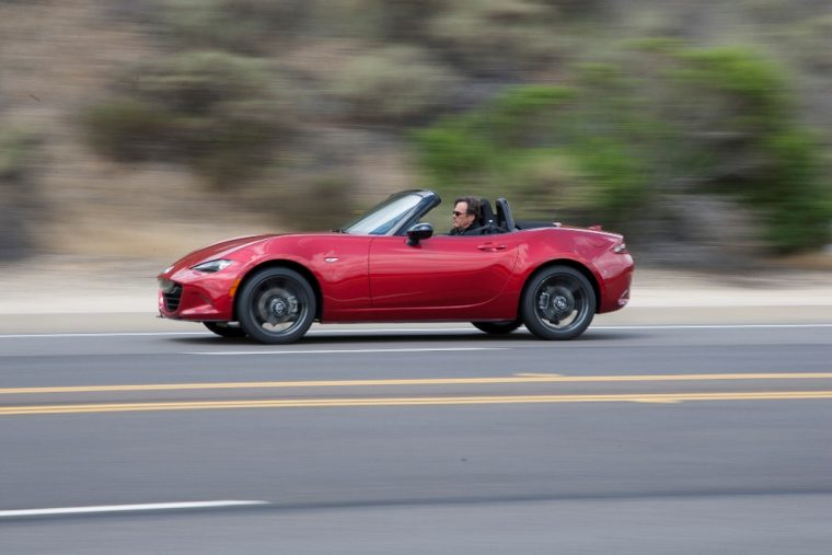 2016 Mazda MX-5 At Speed