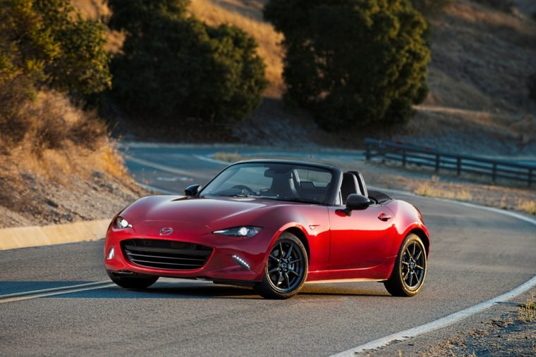2016 Mazda MX-5 Top Down