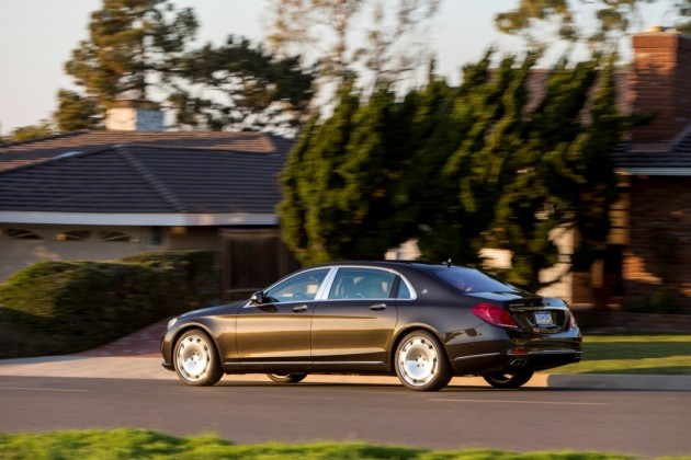 2016 Mercedes-Maybach S600 Sedan