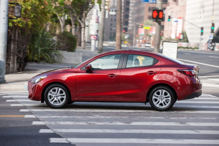 2016 Scion iA top safety pick plus