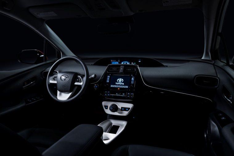 2016 Toyota Prius interior VW dieselgate